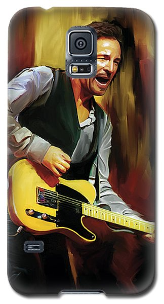 Bruce Springsteen Artwork Galaxy S5 Case by Sheraz A