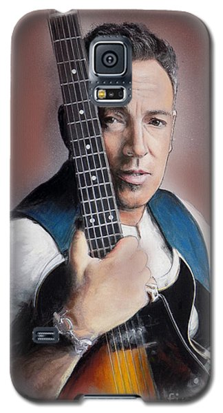 Bruce Springsteen Galaxy S5 Case by Melanie D