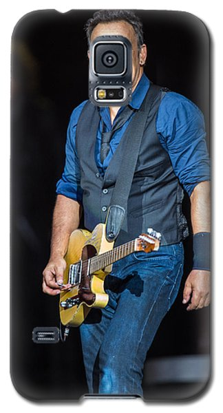 Bruce Springsteen Galaxy S5 Case by Georgia Fowler