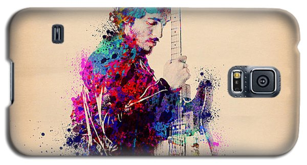 Bruce Springsteen Splats And Guitar Galaxy S5 Case