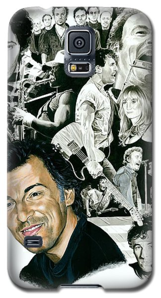 Bruce Springsteen Through The Years Galaxy S5 Case by Ken Branch