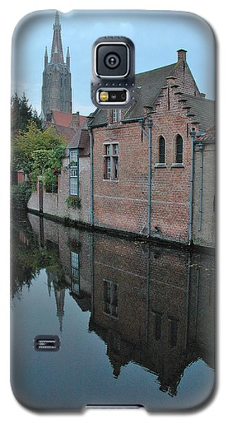 Bruges Canal Galaxy S5 Case