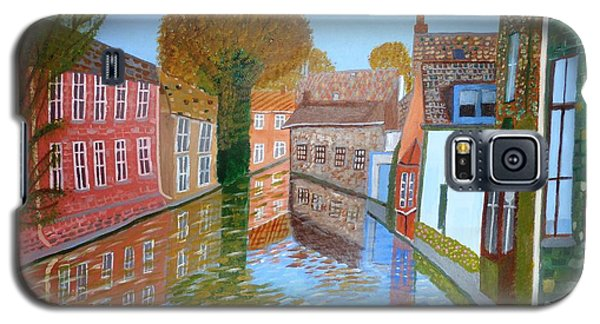 Brugge Canal Galaxy S5 Case