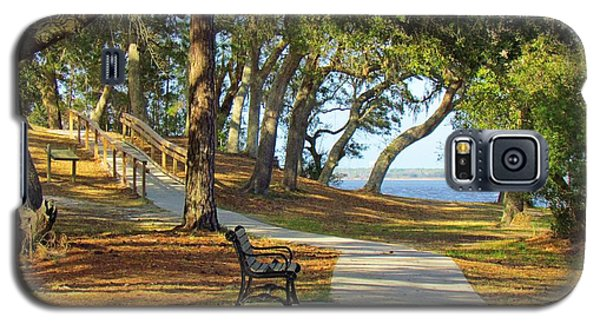 Galaxy S5 Case featuring the photograph Brunswick Town by Cynthia Guinn