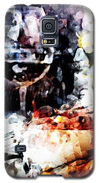 Bruschetta And Red Wine Galaxy S5 Case