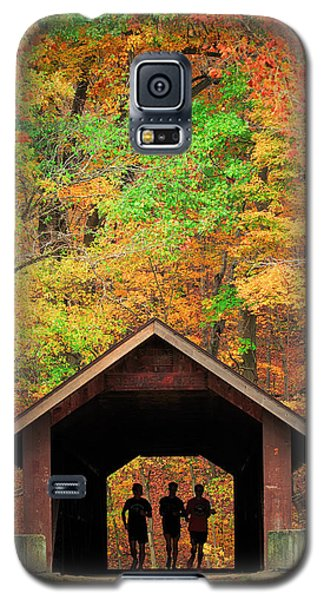 Brush Creek Covered Bridge Galaxy S5 Case