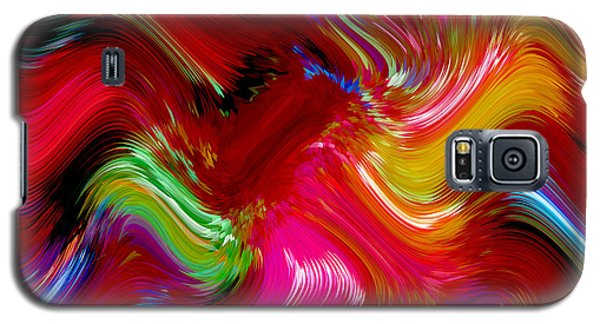 Brush Of Colour Vivid Galaxy S5 Case