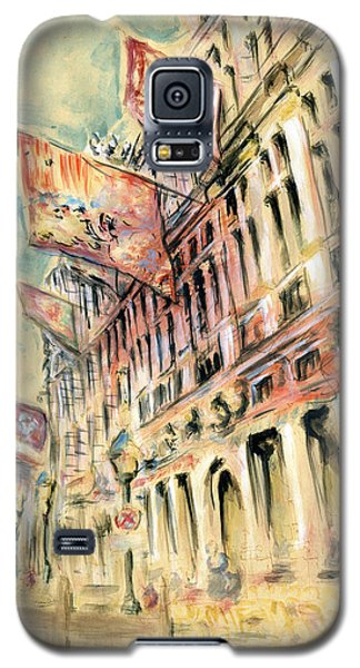 Brussels Grand Place - Watercolor Galaxy S5 Case