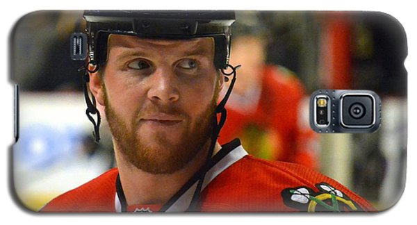 Galaxy S5 Case featuring the photograph Bryan Bickell by Melissa Goodrich