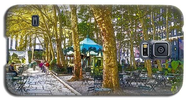 Bryant Park October Galaxy S5 Case