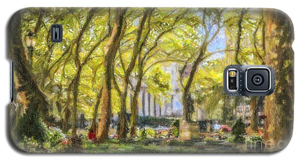 Bryant Park October Morning Galaxy S5 Case