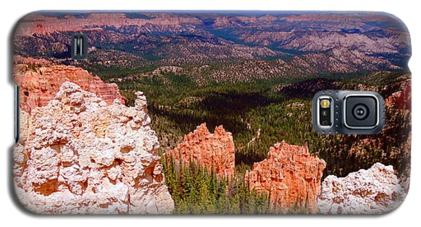 Galaxy S5 Case featuring the photograph Bryce Canyon National Park by Ann Johndro-Collins