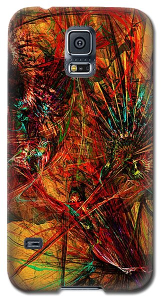 Galaxy S5 Case featuring the digital art Bstract 011414 by David Lane