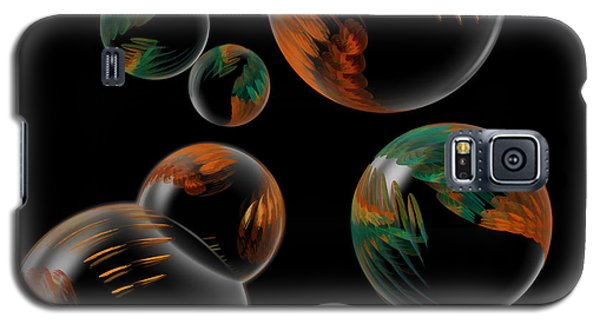Bubble Farm Fractal Galaxy S5 Case by Kathleen Holley
