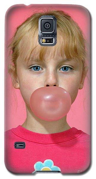 Bubble Gum Pink Galaxy S5 Case