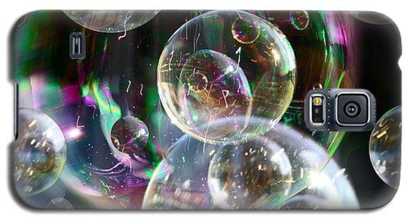 Bubbles And More Bubbles Galaxy S5 Case by Nareeta Martin