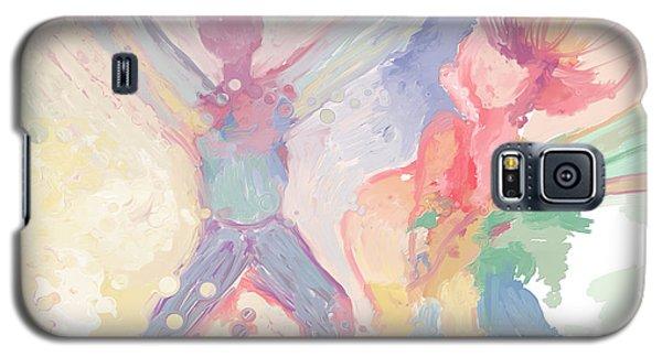 Galaxy S5 Case featuring the digital art Bubbles by Constance Krejci