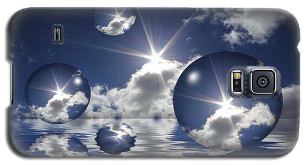 Bubbles In The Sun Galaxy S5 Case