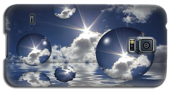 Bubbles In The Sun Galaxy S5 Case by Shane Bechler