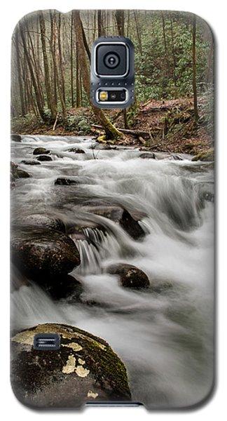 Bubbling Mountain Stream Galaxy S5 Case