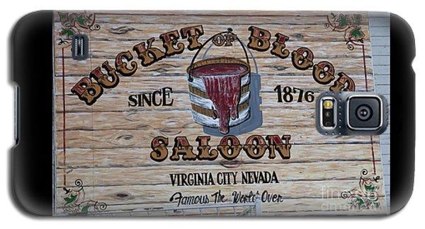 Bucket Of Blood Saloon 1876 Canvas Print,photographic Print,art Print,framed Print,greeting Card, Galaxy S5 Case