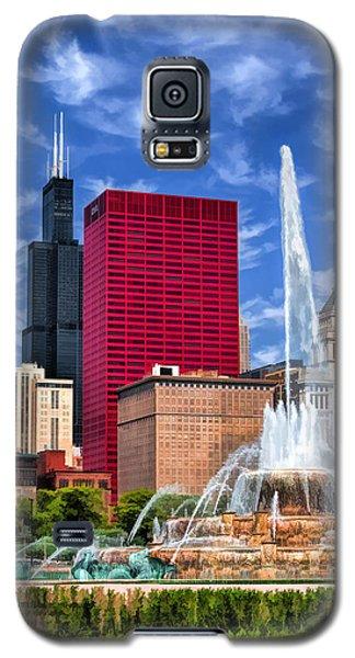 Buckingham Fountain Sears Tower Galaxy S5 Case