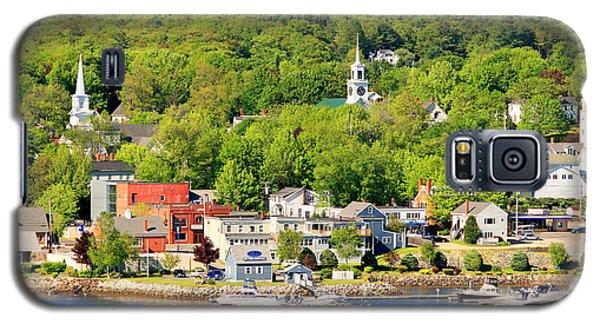 Bucksport Maine Waterfront Galaxy S5 Case by Barbara West