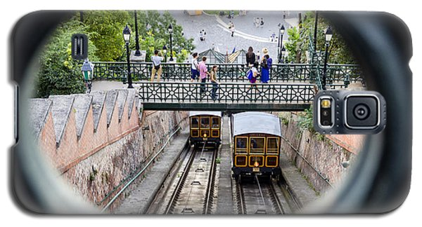 Budapest Castle Hill Funicular Galaxy S5 Case