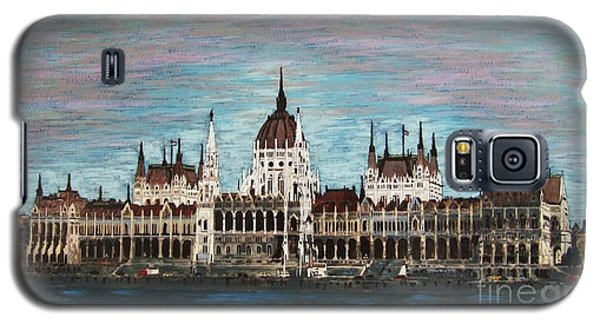 Budapest Parliament By Jasna Gopic Galaxy S5 Case