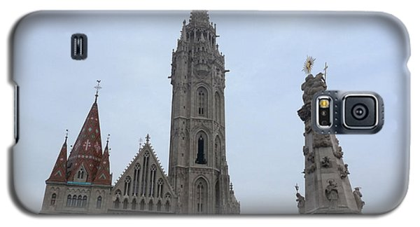 Galaxy S5 Case featuring the photograph Budapest Spires by Deborah Smolinske