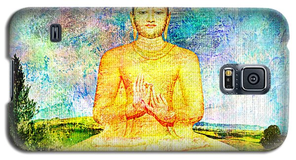Buddha Galaxy S5 Case by Ally  White
