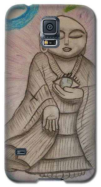 Buddha And The Eye Of The World Galaxy S5 Case