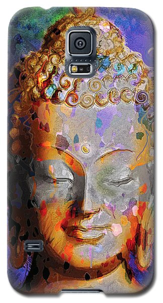 Galaxy S5 Case featuring the painting Buddha by David Klaboe