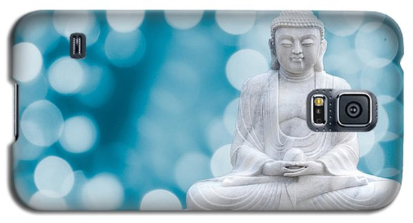 Buddha Enlightenment Blue Galaxy S5 Case