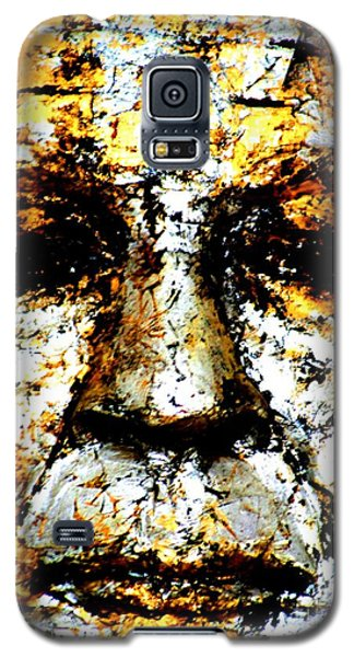 Galaxy S5 Case featuring the photograph Buddha Face by Nola Lee Kelsey