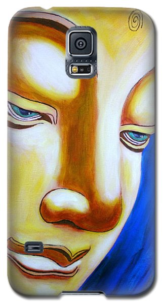 Buddha Head Gazing Art Galaxy S5 Case