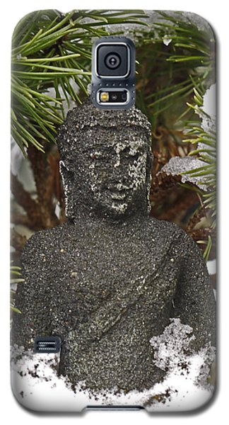 Buddha In The Snow Galaxy S5 Case