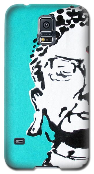 Galaxy S5 Case featuring the painting Buddha by Nicole Gaitan