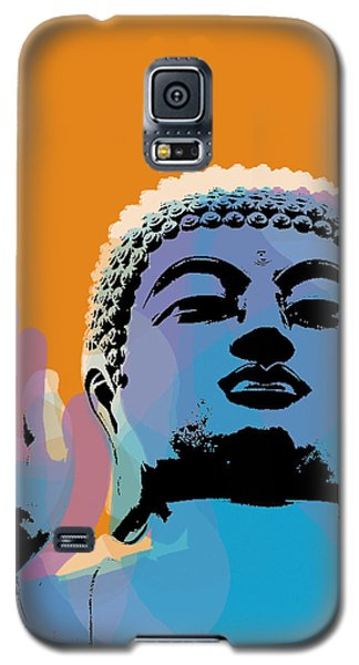 Buddha Pop Art - Warhol Style Galaxy S5 Case by Jean luc Comperat