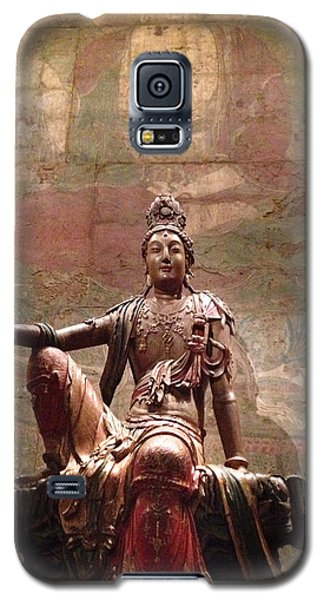Galaxy S5 Case featuring the photograph Buddha by Rod Seel