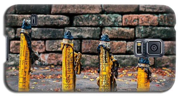Galaxy S5 Case featuring the photograph Buddhist Incense by Dean Harte