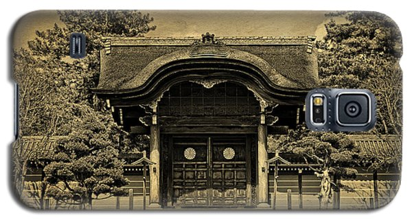 Buddhist Temple Gate In Early Spring Galaxy S5 Case