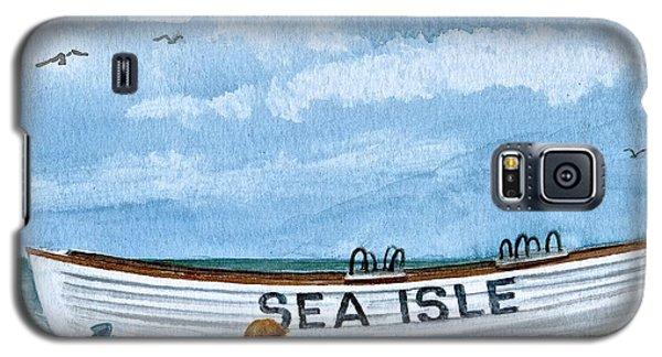 Buddies In Sea Isle City 2 Galaxy S5 Case by Nancy Patterson
