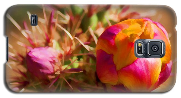 Budding Cactus Galaxy S5 Case by Fred Larson
