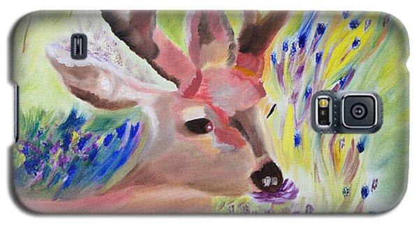 Budding Fields Galaxy S5 Case by Meryl Goudey