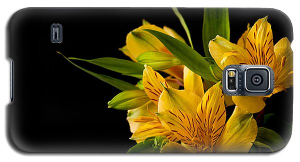 Galaxy S5 Case featuring the photograph Budding Flowers by Sennie Pierson