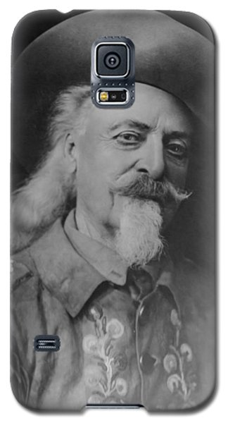 Galaxy S5 Case featuring the photograph Buffalo Bill Cody by Charles Beeler