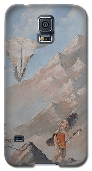 Galaxy S5 Case featuring the painting Buffalo Dancer by Richard Faulkner