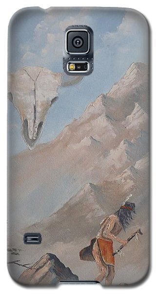 Buffalo Dancer Galaxy S5 Case by Richard Faulkner