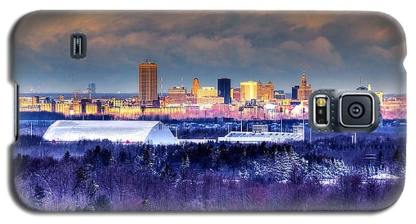 Buffalo From Chestnut Ridge Galaxy S5 Case by Don Nieman
